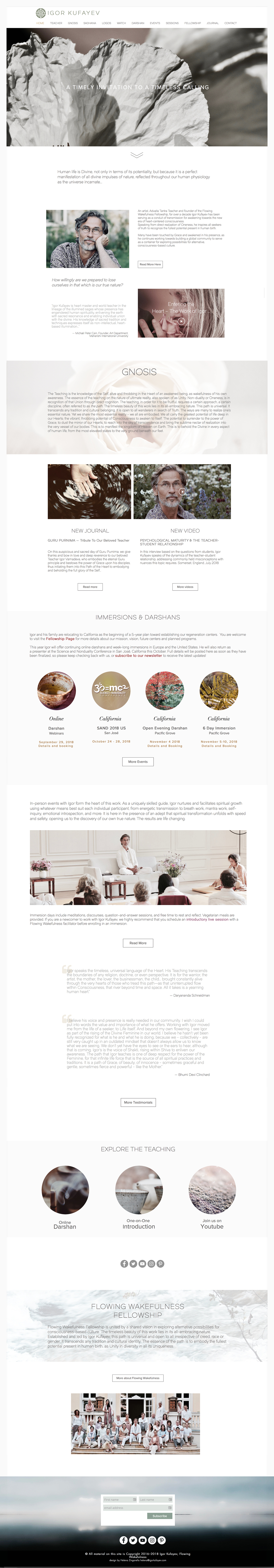 Helena Zingarella ~ webdesign Igor Kufayev