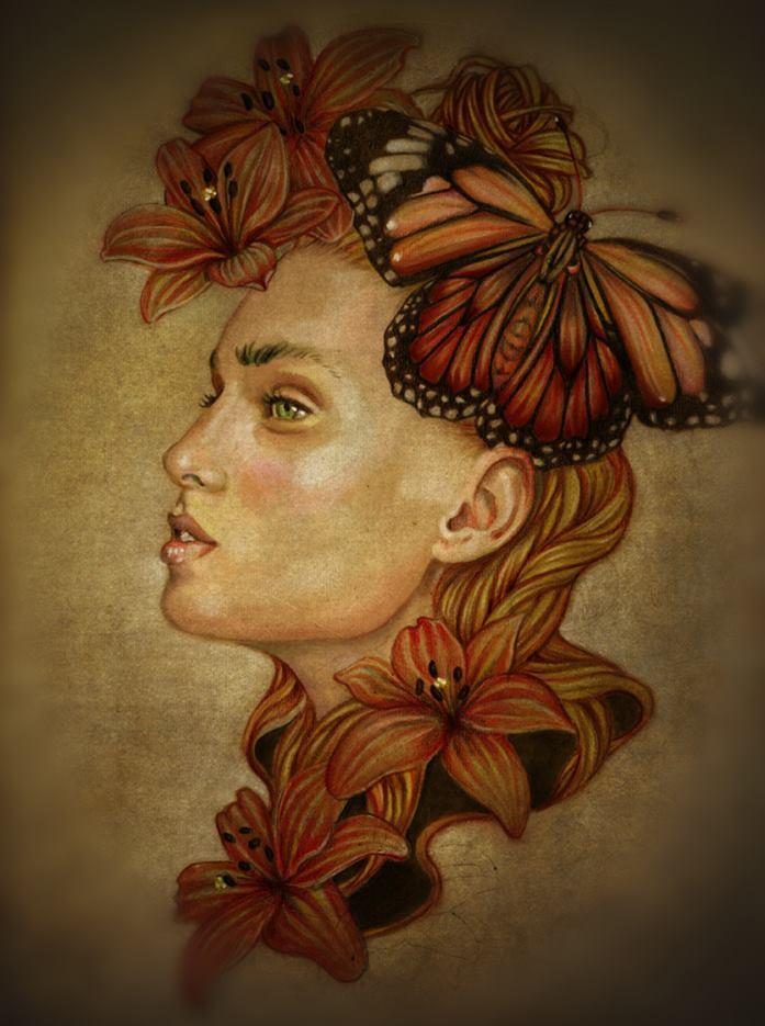 Helena Zingarella ~ Butterfly