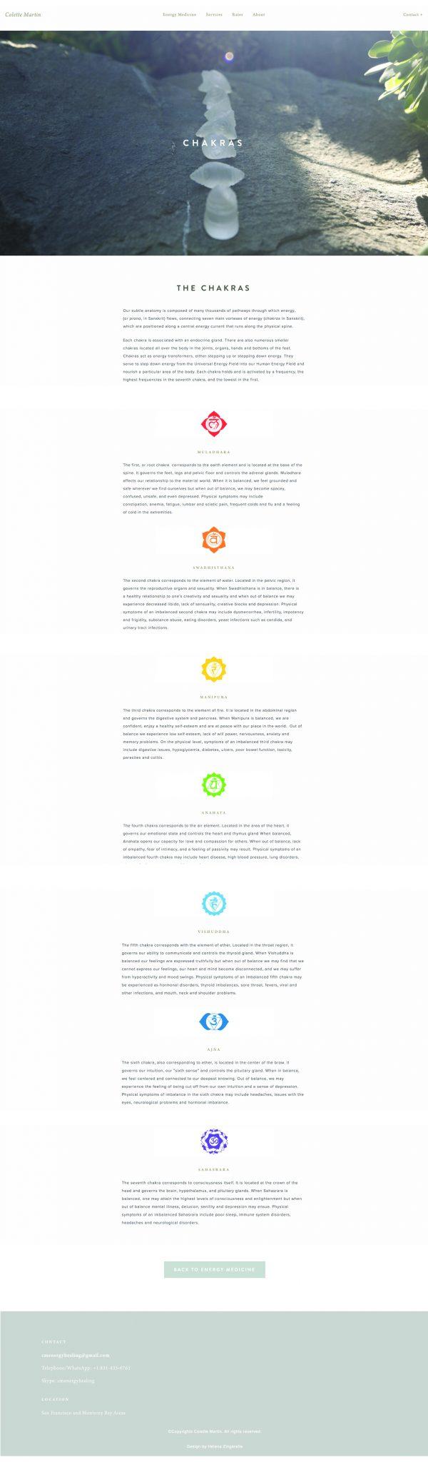 Helena Zingarella ~ Web-design